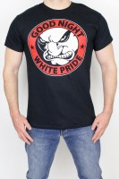 T-Shirt Good Night White Pride Black XL