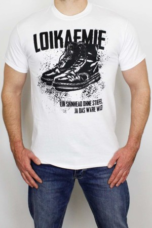T-Shirt Boots White