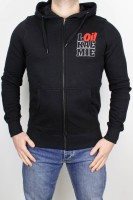 Hooded Zipper Classic Oi! Black