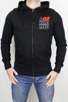 Hooded Zipper Classic Oi! Black XL