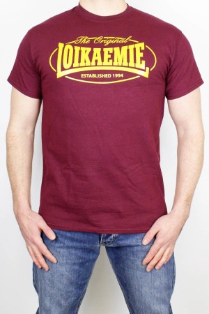 T-Shirt The Original Burgundy L