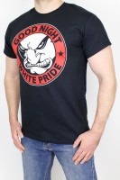 T-Shirt Good Night White Pride Black S